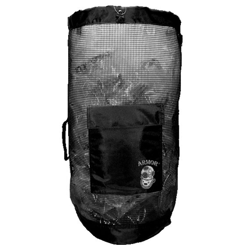 Armor Rubber Coated Mesh Backpack