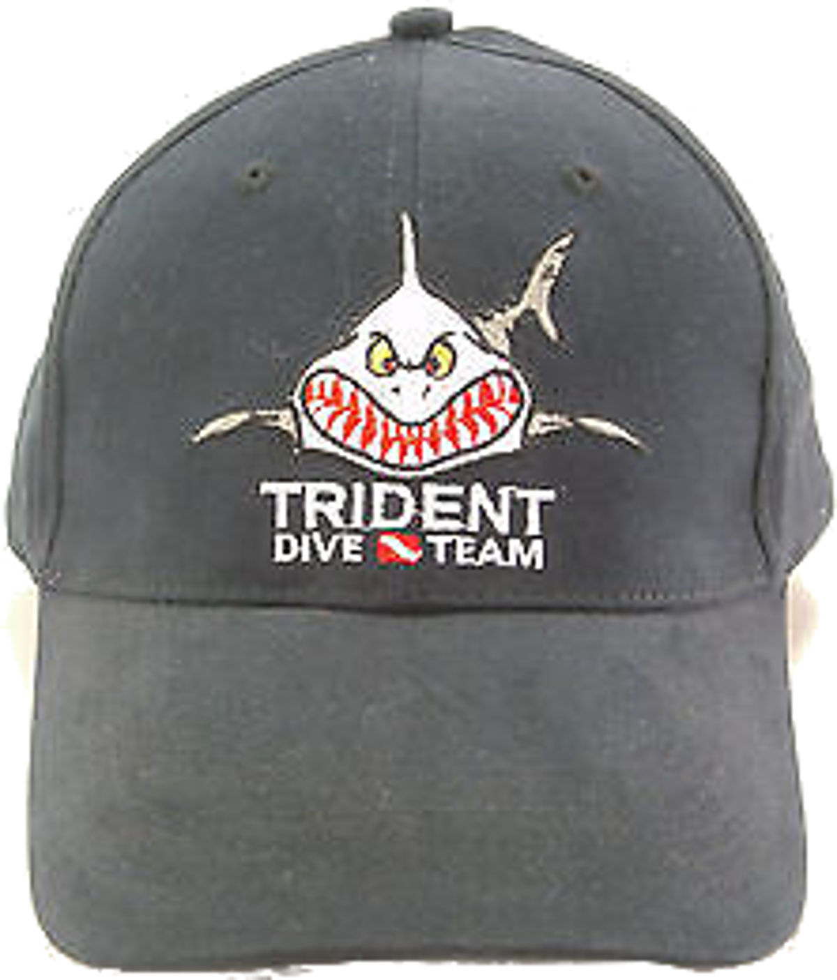 Trident Dive Team Black Baseball Cap