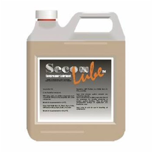 Trident 1 Gallon SECO LUBE Natural Compressor Oil