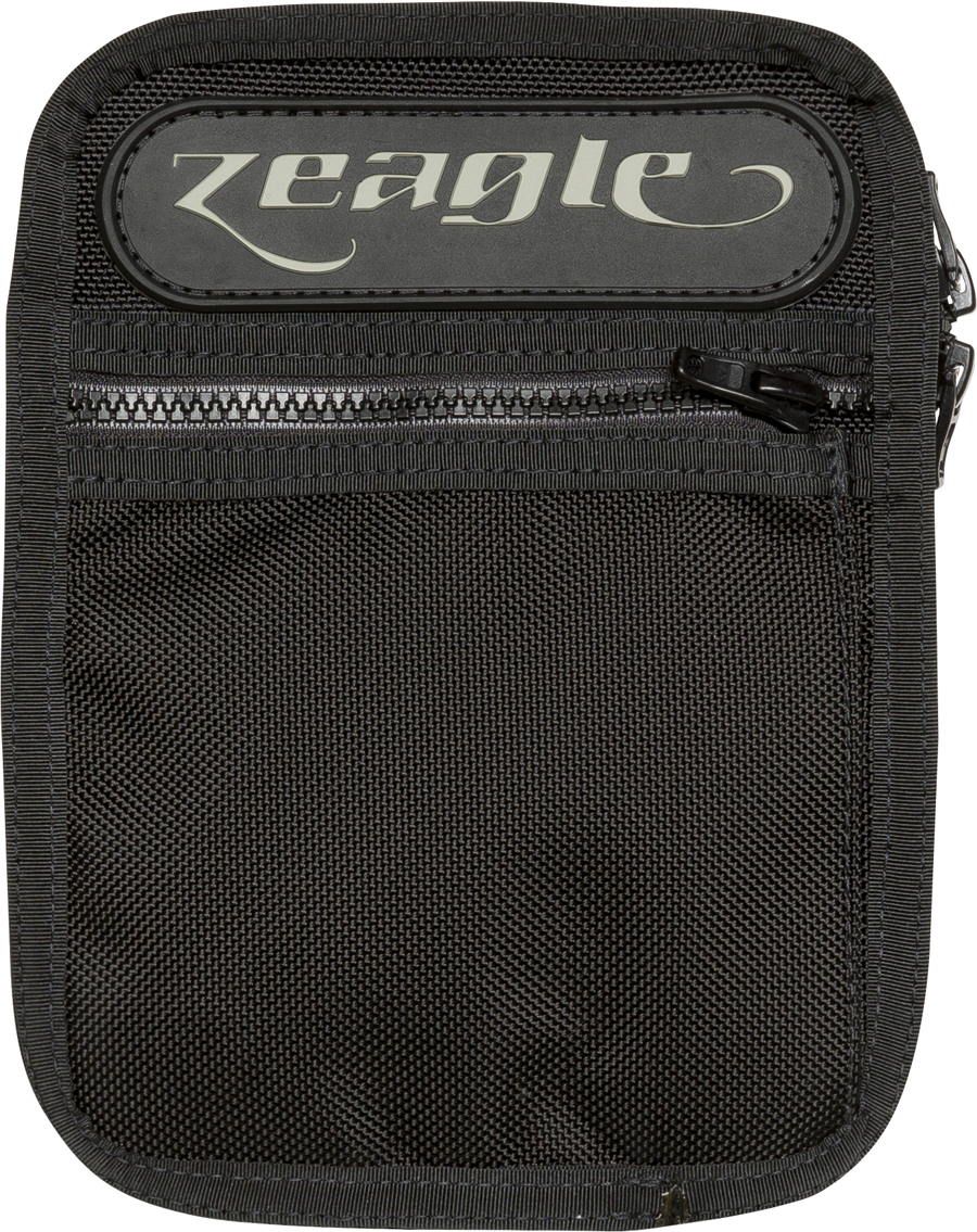 Zeagle Ballistic Nylon 2 Zipper Tech Utility Pocket