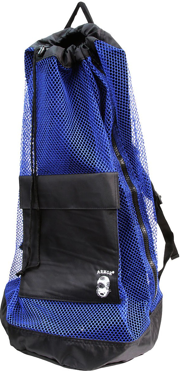 Armor Mesh Backpack Dive Bag