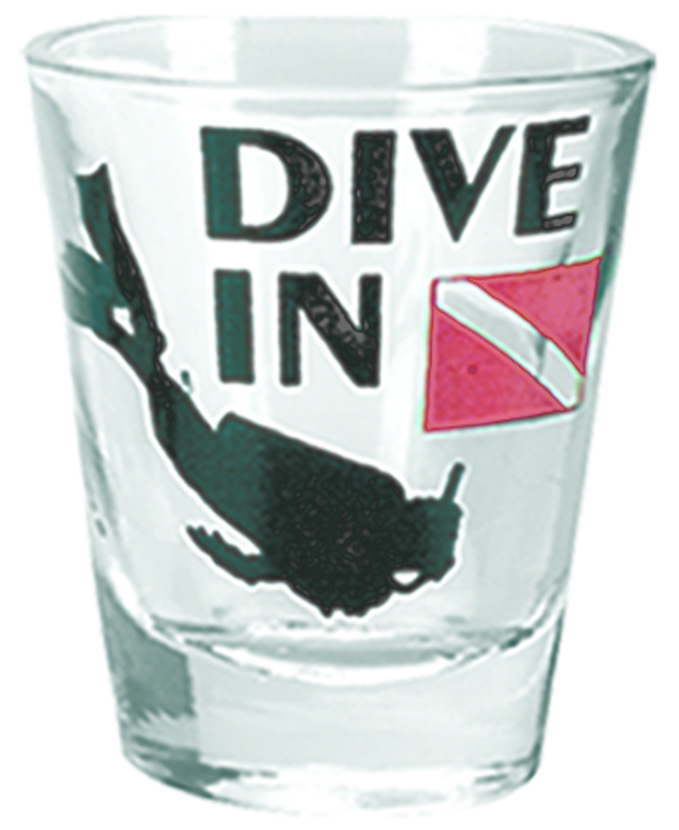 Innovative Dive In Shot Glass