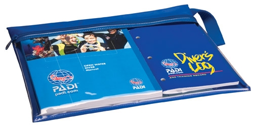 PADI Crew Pack Openwater Manual, RDP Table, Slate, Sausage and Whistle